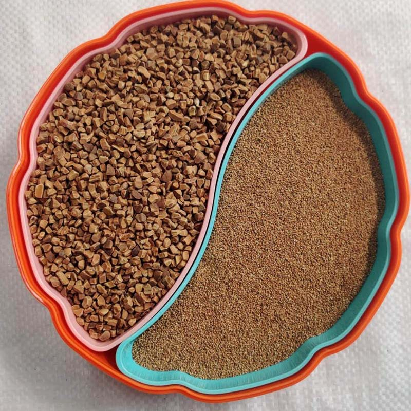 GUANGDA Walnut shell olive shell abrasive High hardness grinding, polishing and rust removal materia