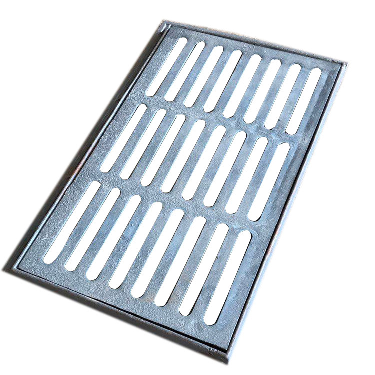 Ball-milled cast iron rainwater grate sewer drainage manhole cover spot wholesale cast iron trench c