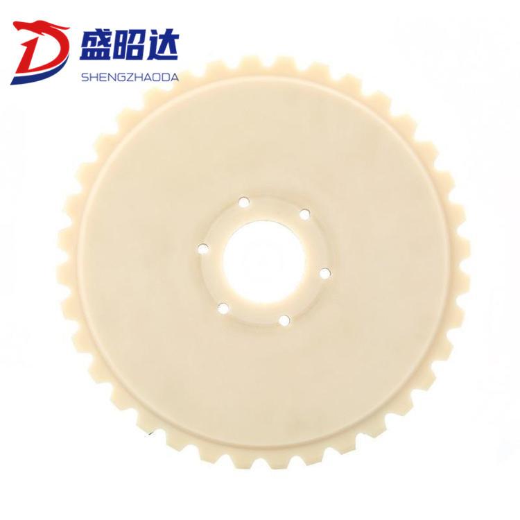 Nylon Transmission Gear Plastic Nylon Gear Processing Injection MC Nylon Helical Gear