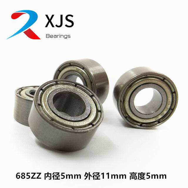 XJS Carbon steel bearing steel 685ZZ bearing inner diameter 5mm outer diameter 11mm height 4mm high