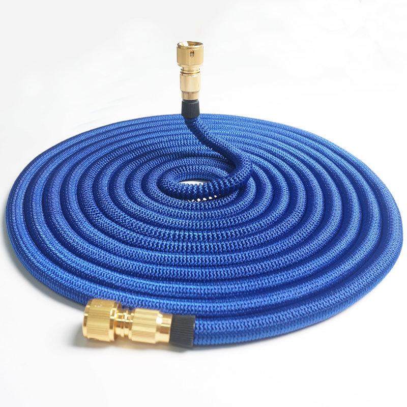 3 times telescopic hose high pressure car wash water gun garden garden watering car wash tool set