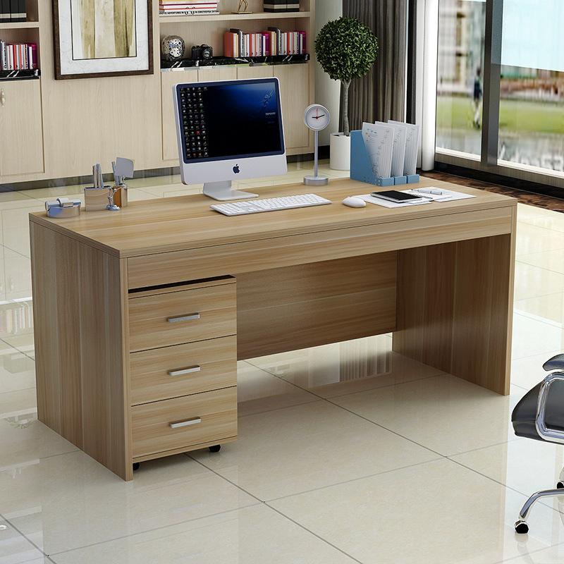 Home computer desk student desk staff boss desk office furniture study open independent desk