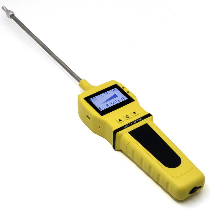 Portable gas sampling pump, handheld air and gas pump suction sampling pump for use with gas detecto