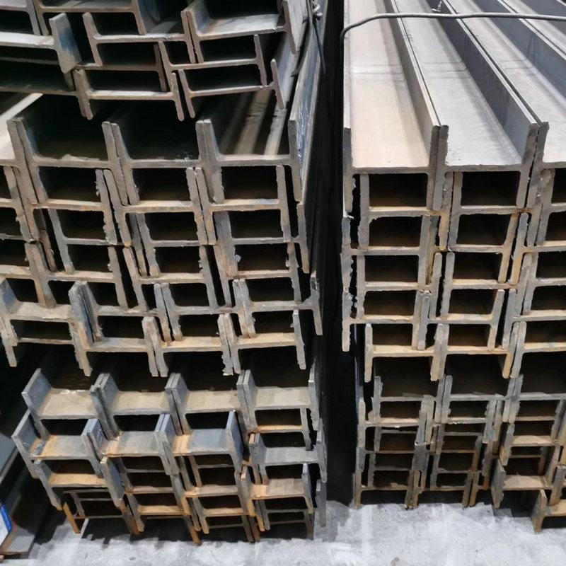 National standard galvanized I-beam spot q235 construction site steel beam steel structure