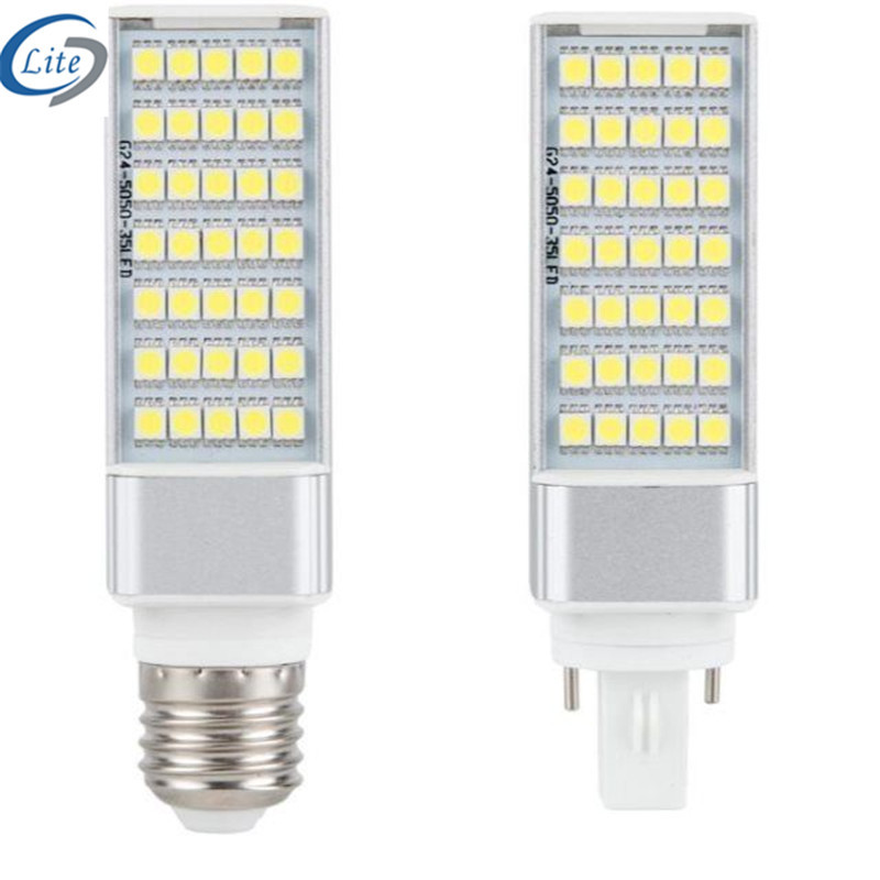 5w-11w2835 LED horizontal plug lamp G24 23 E27 plug-in tube constant current wide-voltage plug-in tu