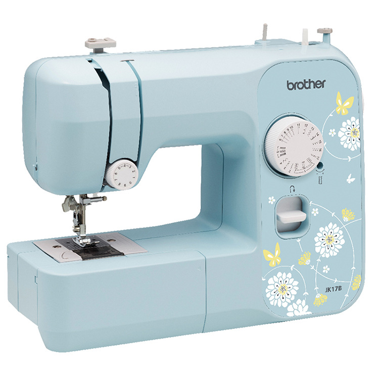 Brother Home Sewing Machine JK17B Multifunctional Buttonhole with Overlock Green Small Fresh Sewing