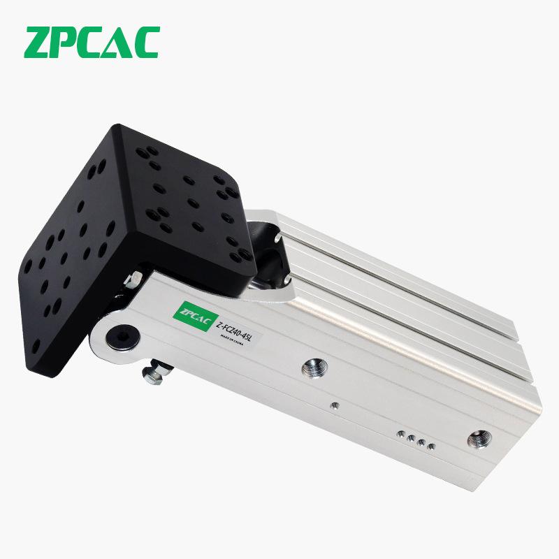 ZPCAC Manipulator Accessories Fixture Side Posture Group Rack FCZ30/40 Cylinder 90 Degree Flip Cylin