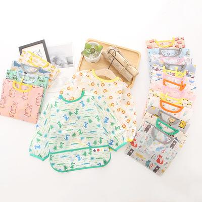 Quần yếm trẻ em chống thấm nước, quần yếm trẻ em, yếm vải polyester chống thấm, yếm ăn cho bé mùa đô