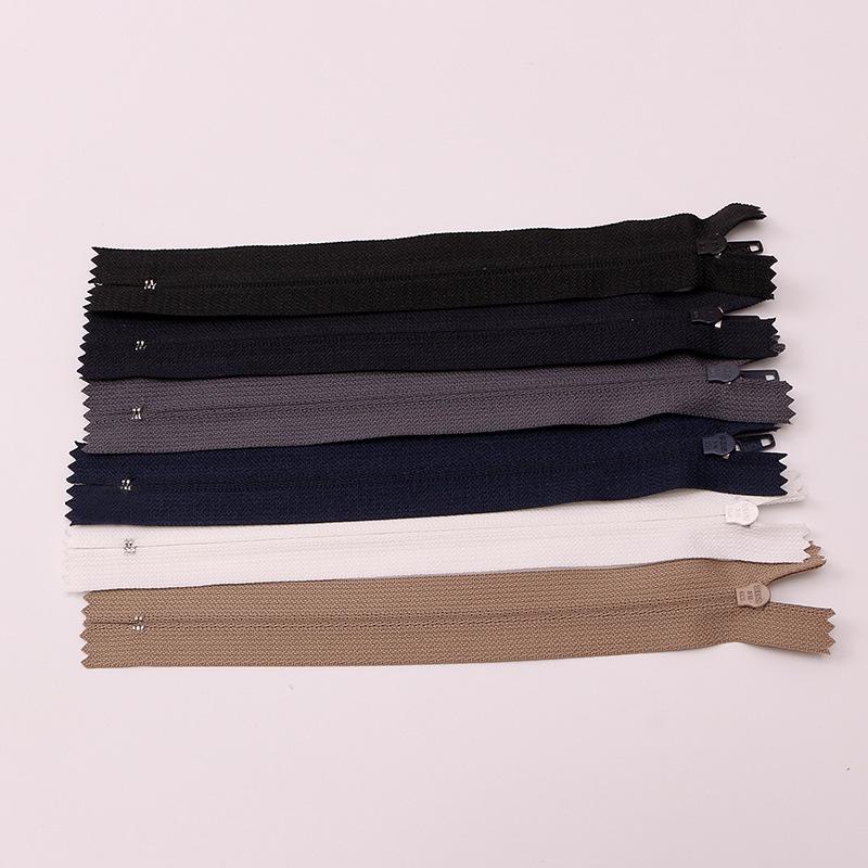 Fonbom 7 inch SBS nylon zipper placket pocket zipper