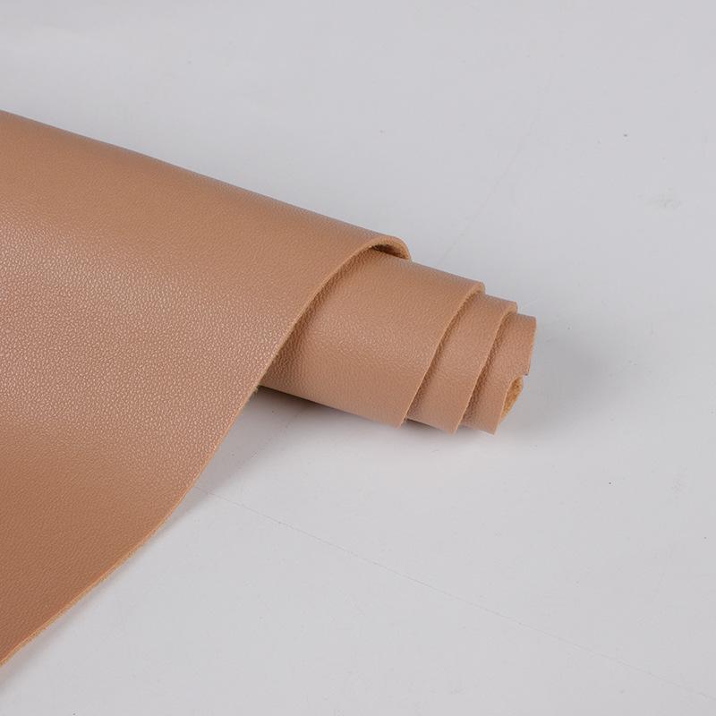 Spot 1.25mm brushed cloth bottom lychee pattern half pu leather, sheepskin PU leather, sofa leather
