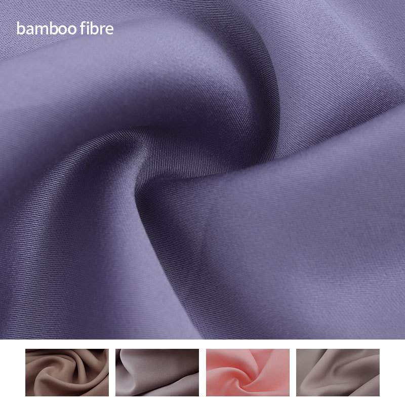 Home textile bamboo fiber fabric Cellulose fiber bamboo cotton jersey Wide home textile fabric bambo