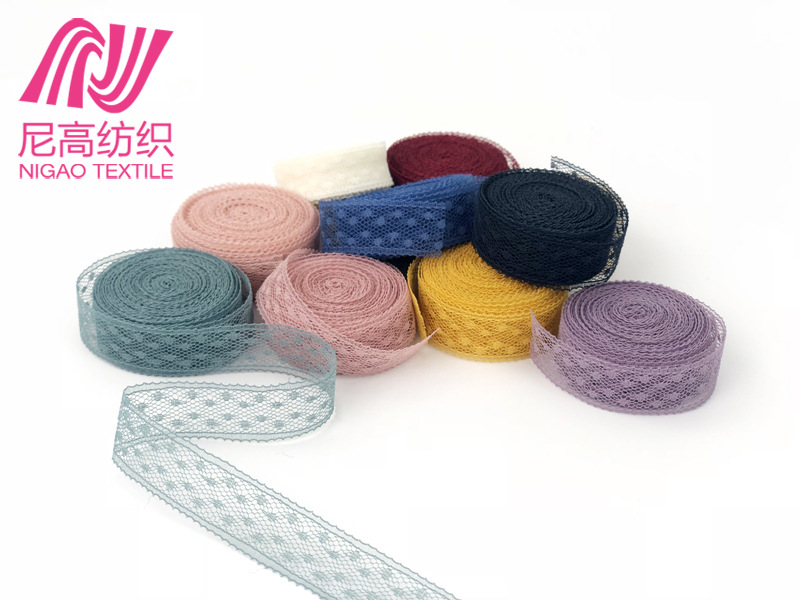 Non-stretch lace, spot flower packaging, headband, small accessories, narrow side packaging accessor