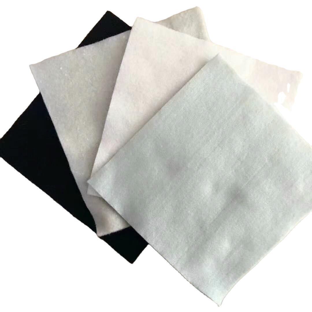 Chemical fiber non-woven geotextile white filament geotextile non-woven short-filament geotextile