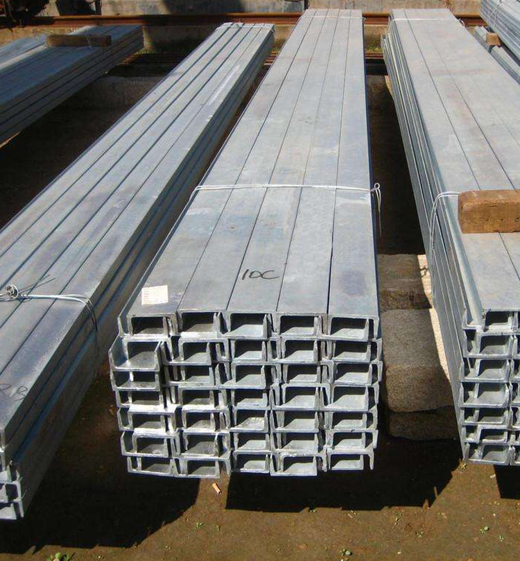 Channel steel 10# national standard q235 cold-formed galvanized channel steel profile for curtain wa