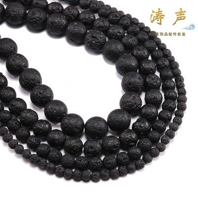 Chuỗi lắc tay phụ kiện chuỗi hạt tròn tự nhiên và chuỗi hạt cầu nguyện chuỗi hạt đeo tay màu đen sán
