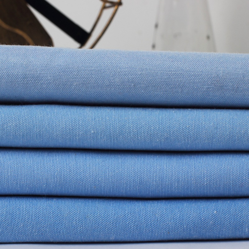Polyester-cotton blended shirt fabric, spring and summer oxford garment fabric, suit fabric