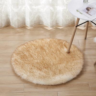 Sang trọng thảm yoga thảm trải giường đầu giường giả thảm len Úc trang trí nhà một giọt giao hàng
