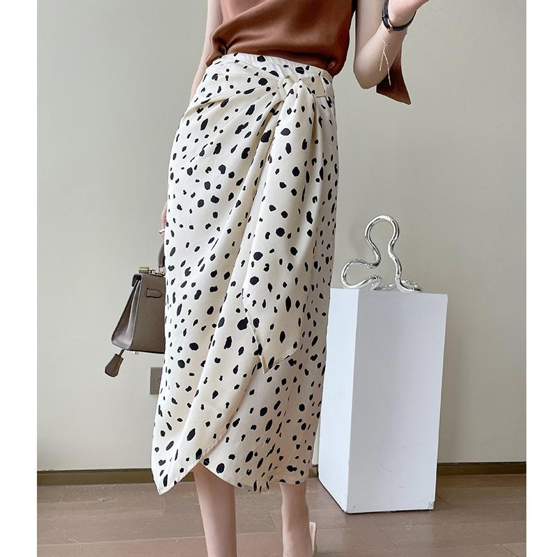 Big sister five-color skirt, printed skirt, thin skirt