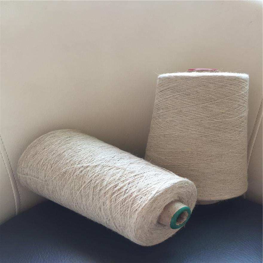 Linen cotton blended yarn 30 counts Viscose linen blended yarn Cotton linen yarn 30 counts