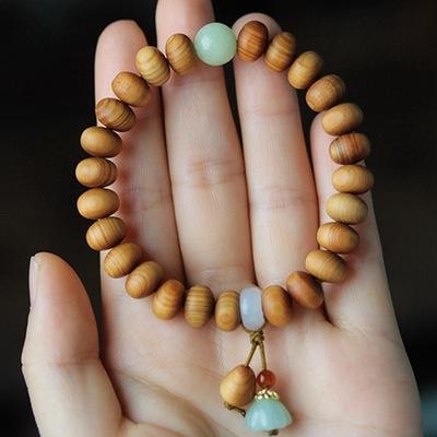 Nhà máy bán buôn Taihang Yabai vật liệu lão hóa vòng đeo tay Thiết kế tự làm chuỗi hạt Phật giáo chấ