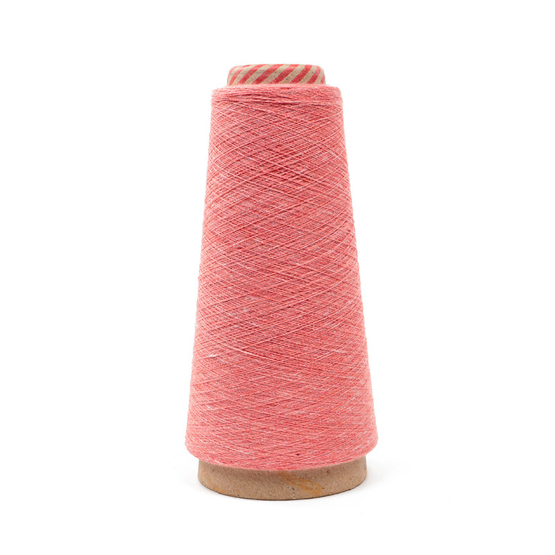 HANZHUO 2/30NM spring and summer yarn 72% BCI cotton spinning yarn 28% recycled nylon yarn cotton ny