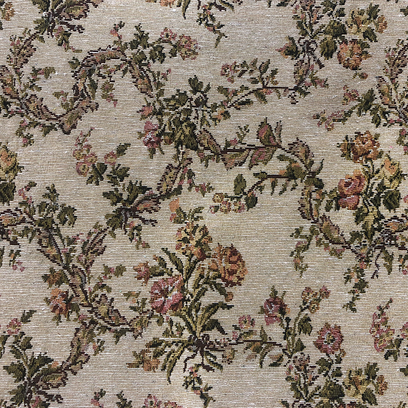 Large jacquard polyester-cotton blended jacquard fabric with 2 meters width