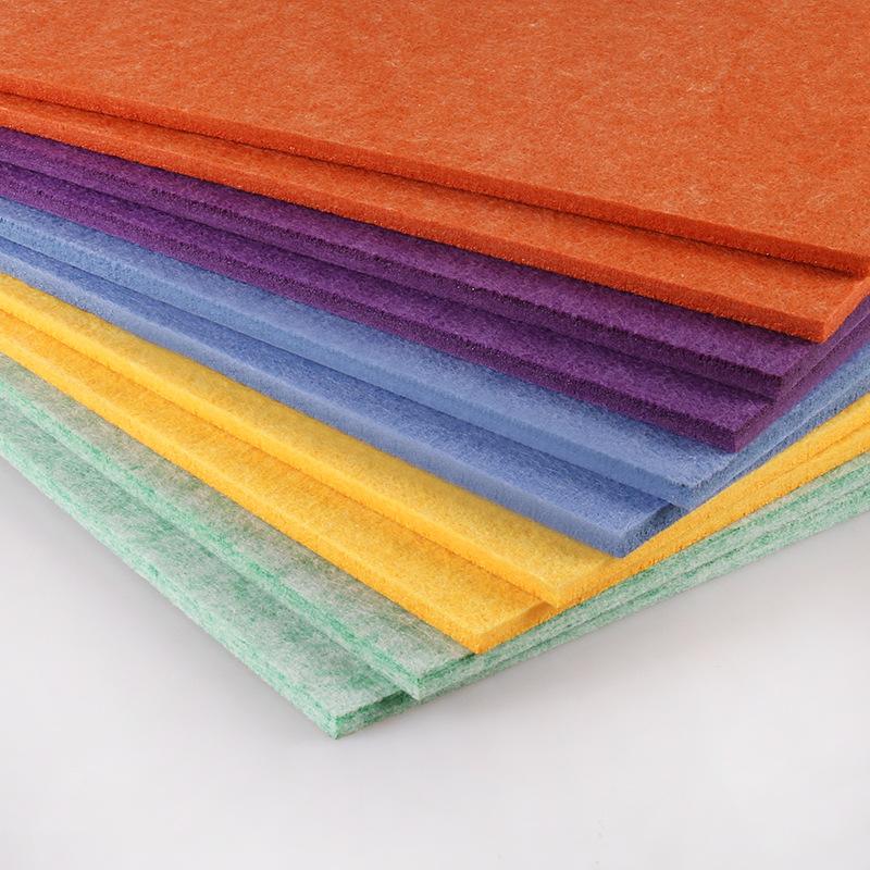 SHENGJIN Color felt board sound-absorbing board sound insulation board cork board background wall fe
