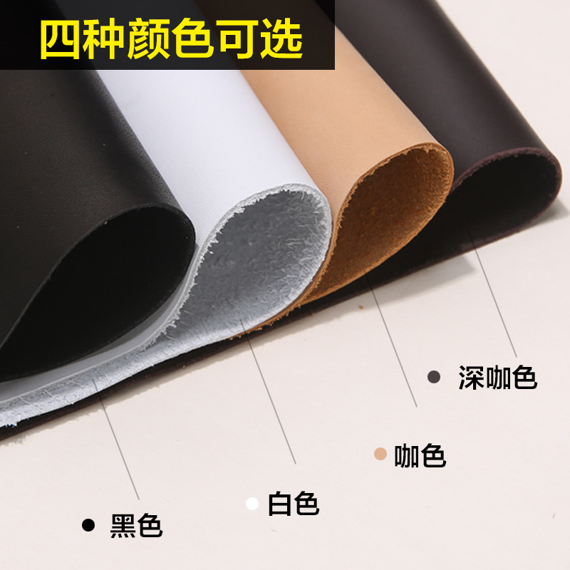 Imported cowhide lining leather water-dyed cow lining leather shoes and boots leather lining leather