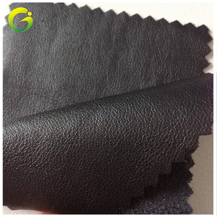 GUOJIN Imitation leather sheepskin pattern PU leather, environmental protection clothing leather fab