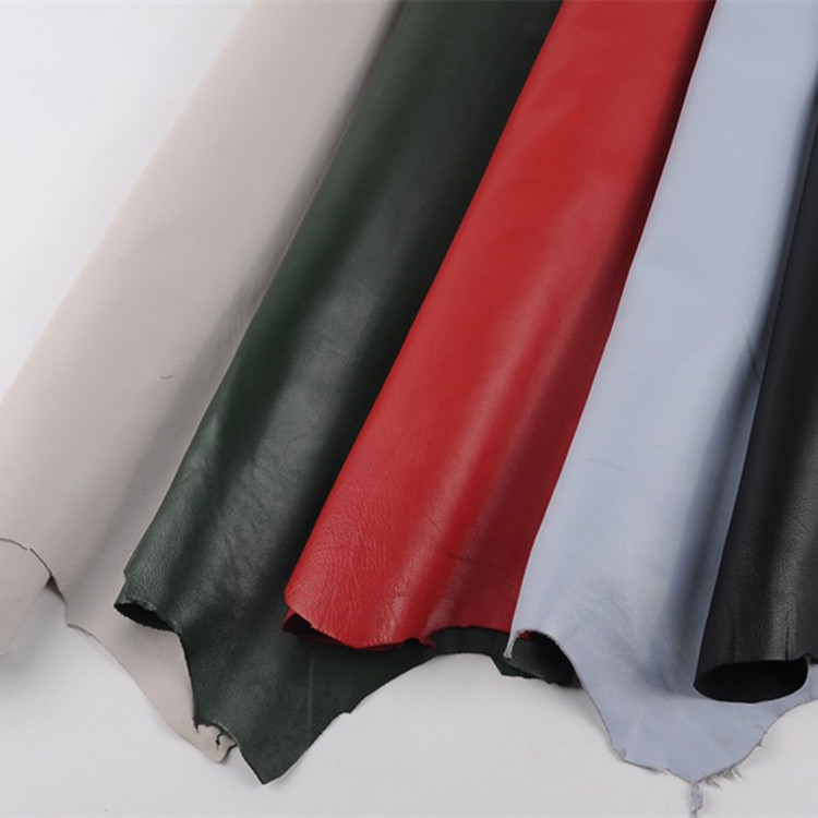 Leather fabric, leather, high-quality sheepskin, the whole piece can be used as luggage, leather clo