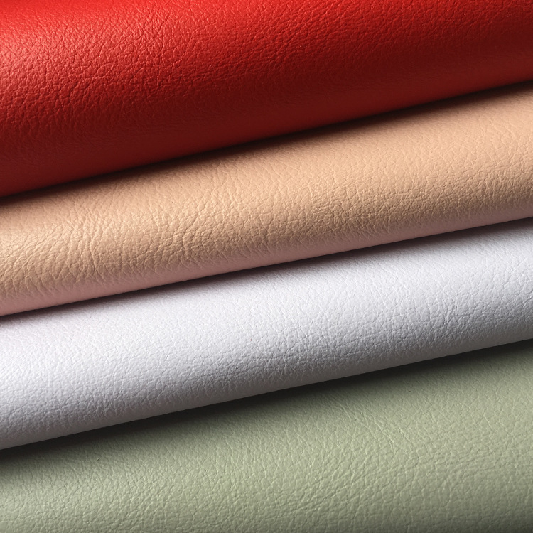 Spot supply of synthetic leather fabrics, falling grain, matte color, new luggage, leather shoes, ca
