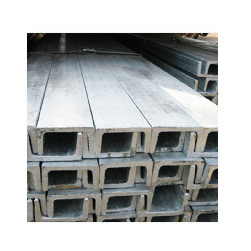 316L channel steel U-shaped, sandblasted, polished and welded U-shaped channel steel