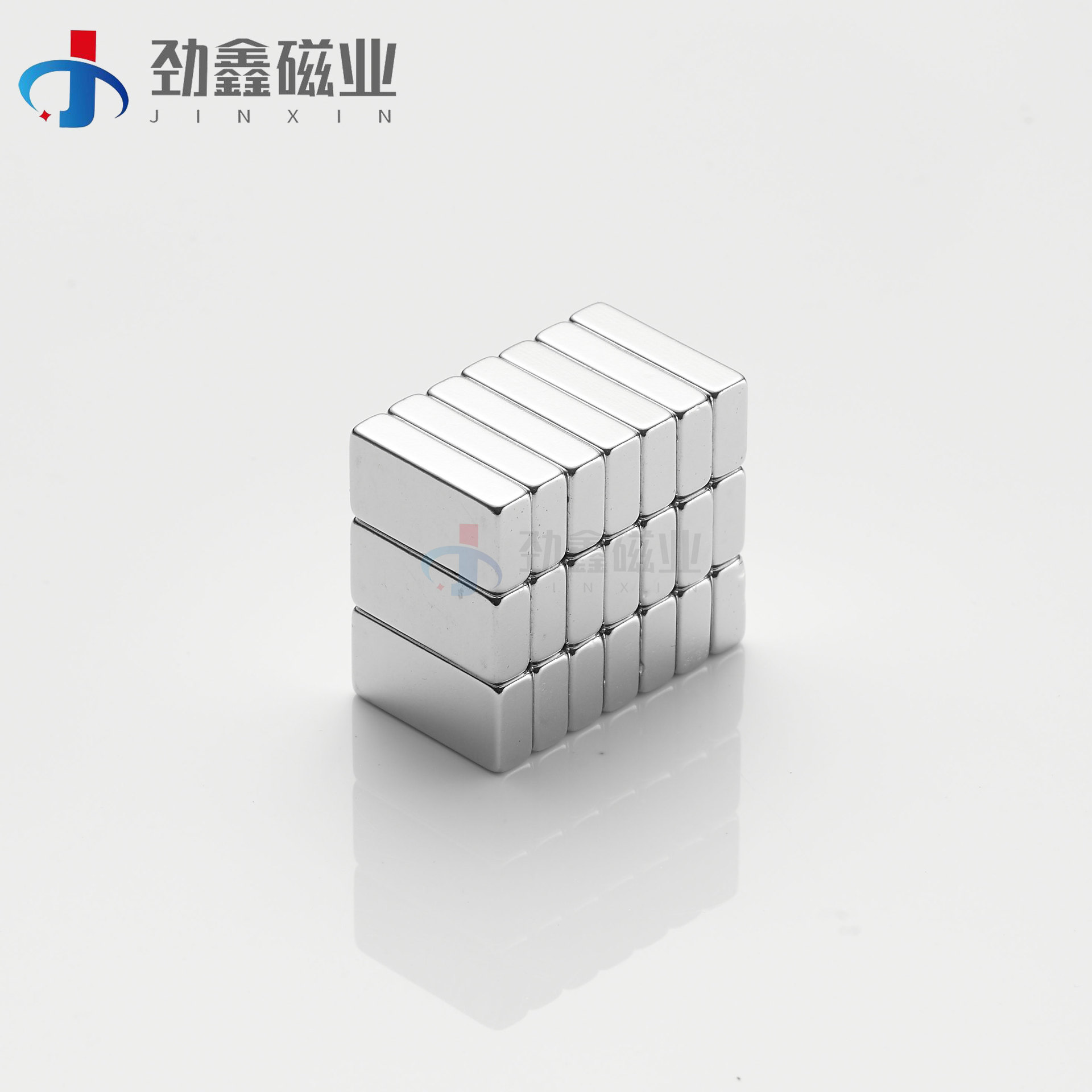 Rare earth permanent magnet 30*10*2/3/4/5 square strong magnetic N50 performance square magnet