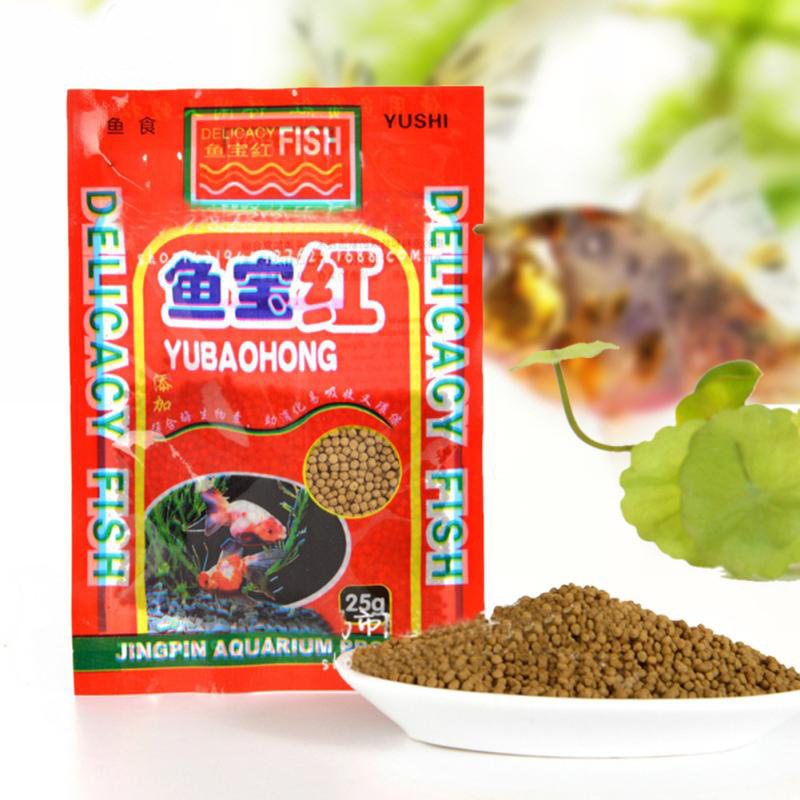 Koi fish feed, fish food, koi feed, goldfish, ornamental fish food, spirulina, bred into small pelle