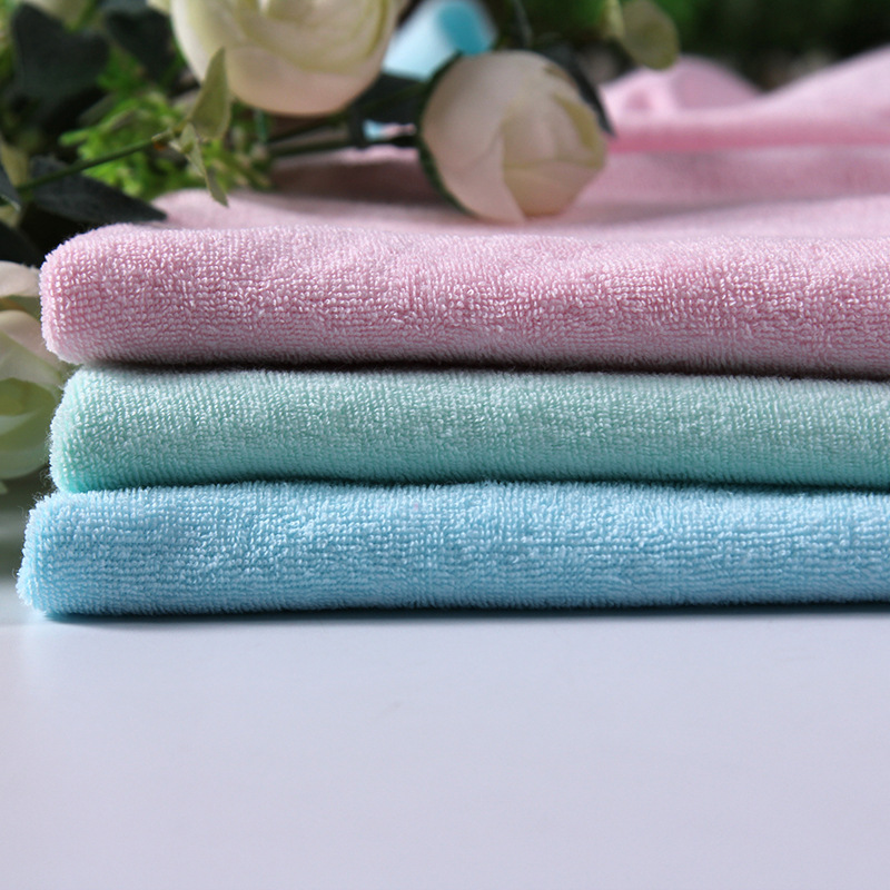Towel fabric, polyester, weft knitting single-sided terry knitted towel fabric, knitted towel fabric