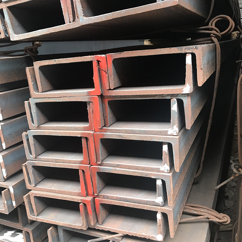 5#8# National standard Q235 hot-rolled channel steel wholesale, galvanized channel steel punching