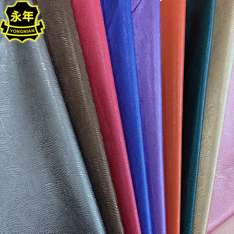 New fashion PU leather pattern, factory direct supply leather cover packaging, notebooks, bags, arti