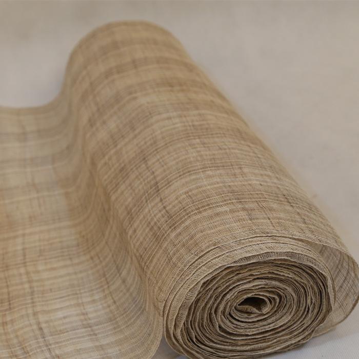 Handmade summer cloth ramie cloth pure ramie cloth lacquer art tire linen table runner tea table ent