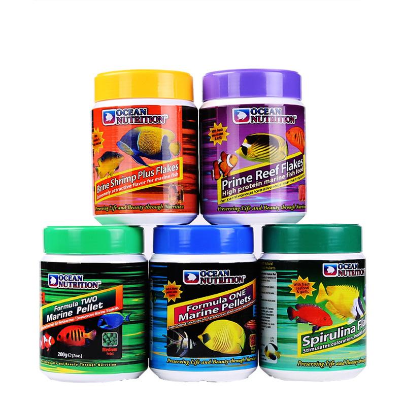 American Ocean brand saltwater fish fish food feed fish food saltwater fish pellets flakes miscellan