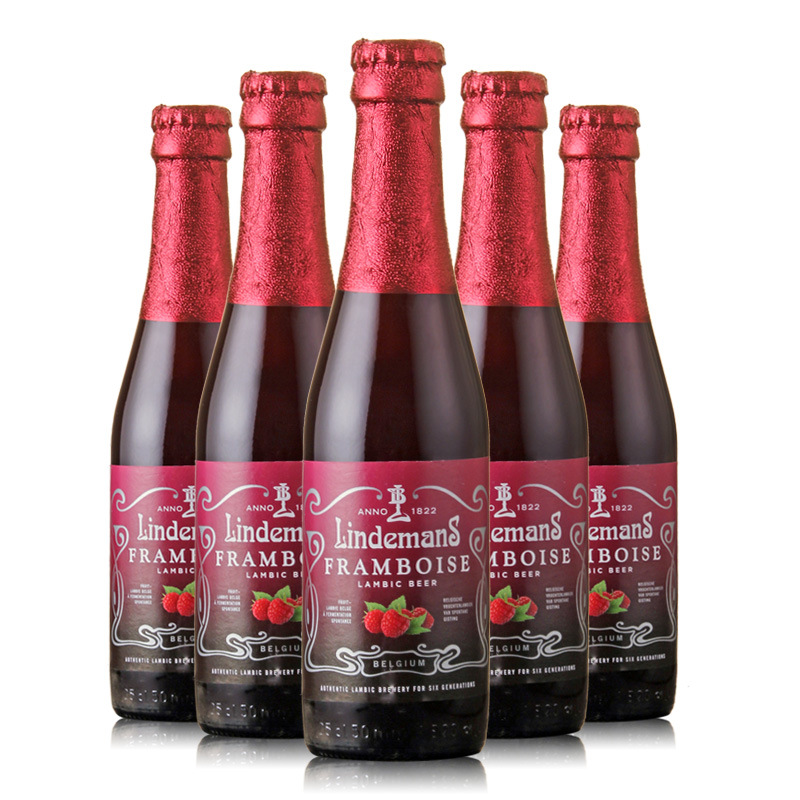 Belgian Beer Lindemann Raspberry Beer 250ml*24 bottles FCL