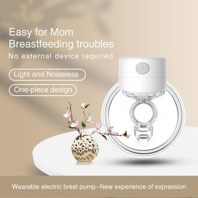 Máy hút sữa có thể đeo được, màn hình LED, tích hợp không dây, rảnh tay, lực hút lớn, nhỏ gọn và di