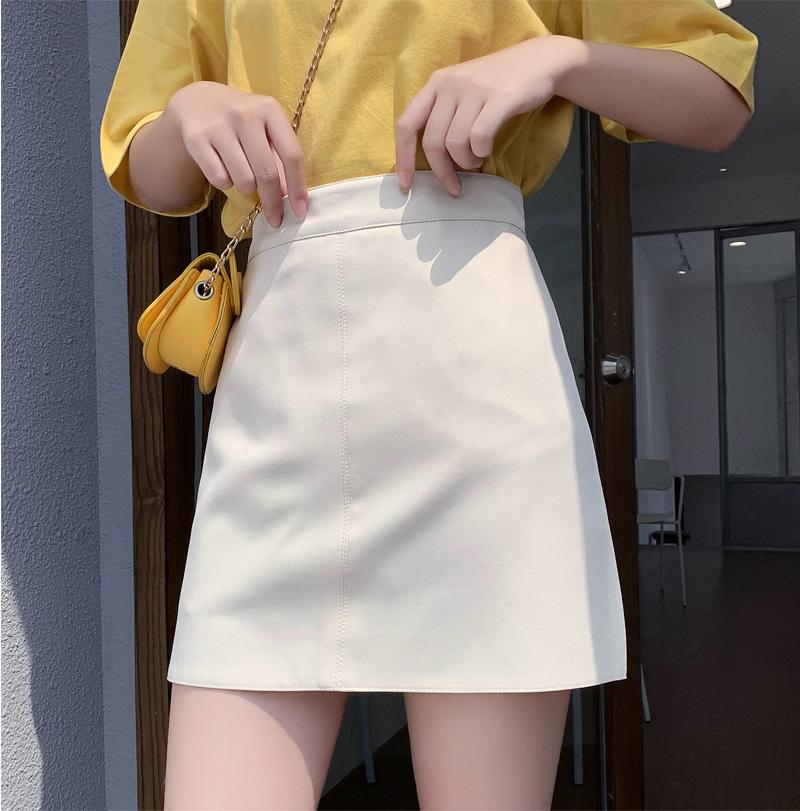 Skirt women's half-length skirt 2021 summer new Korean version of the small fresh package hip skirt