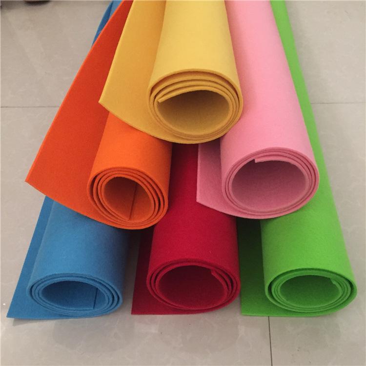 TENGYI Polyester chemical fiber colored felt cloth packaging decorative felt background cloth needle