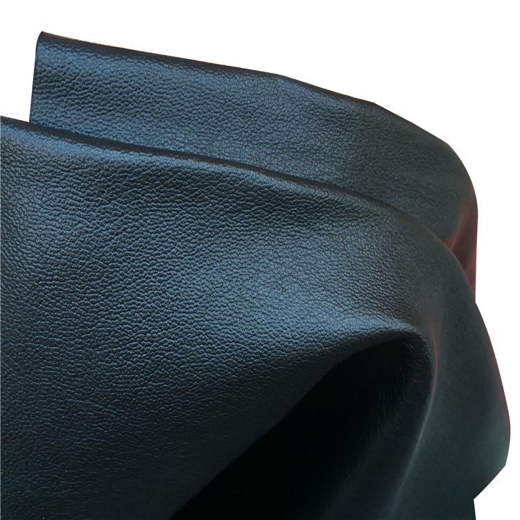 Nappa grain first layer cowhide leather fabric plain fine grain full grain leather bag shoe material