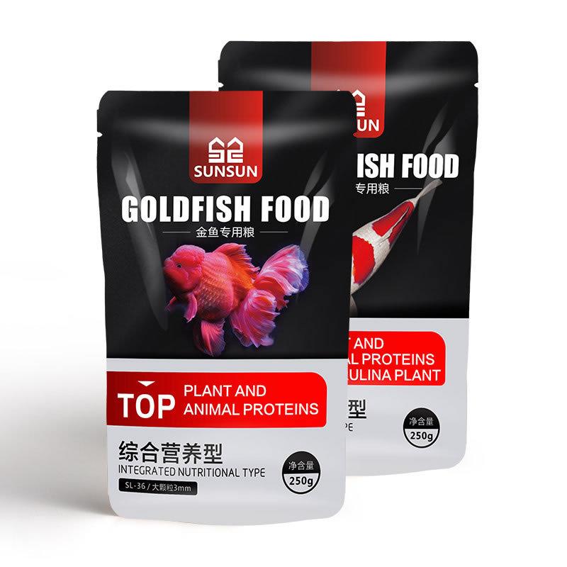 Feed koi fish food ornamental fish goldfish feed high spirulina color enhancement fish food koi fish