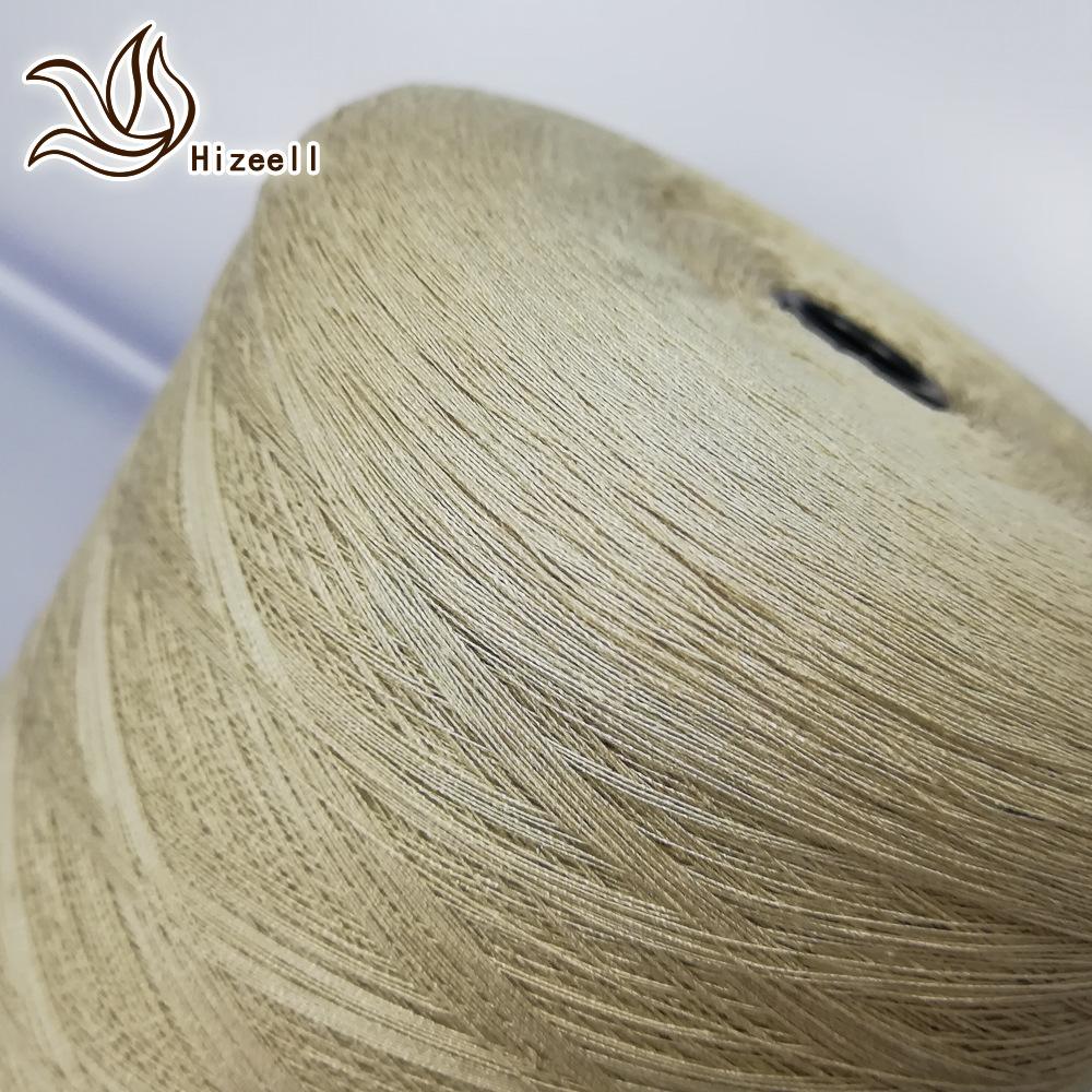 Hizeell Spring and summer linen yarn 14 counts 19 counts 16% linen 26% tencel blended linen tencel