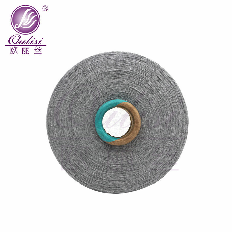 Gray combed recycled cotton yarn manufacturers produce gray recycled cotton yarn, high-cone cotton s