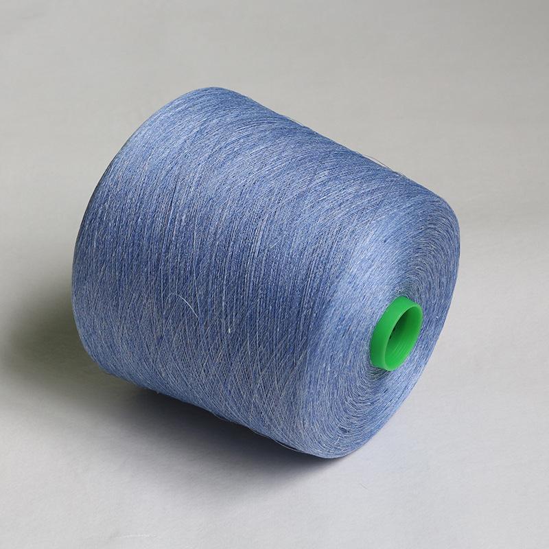 Pure flax fiber yarn color spun linen Dalang wool yarn