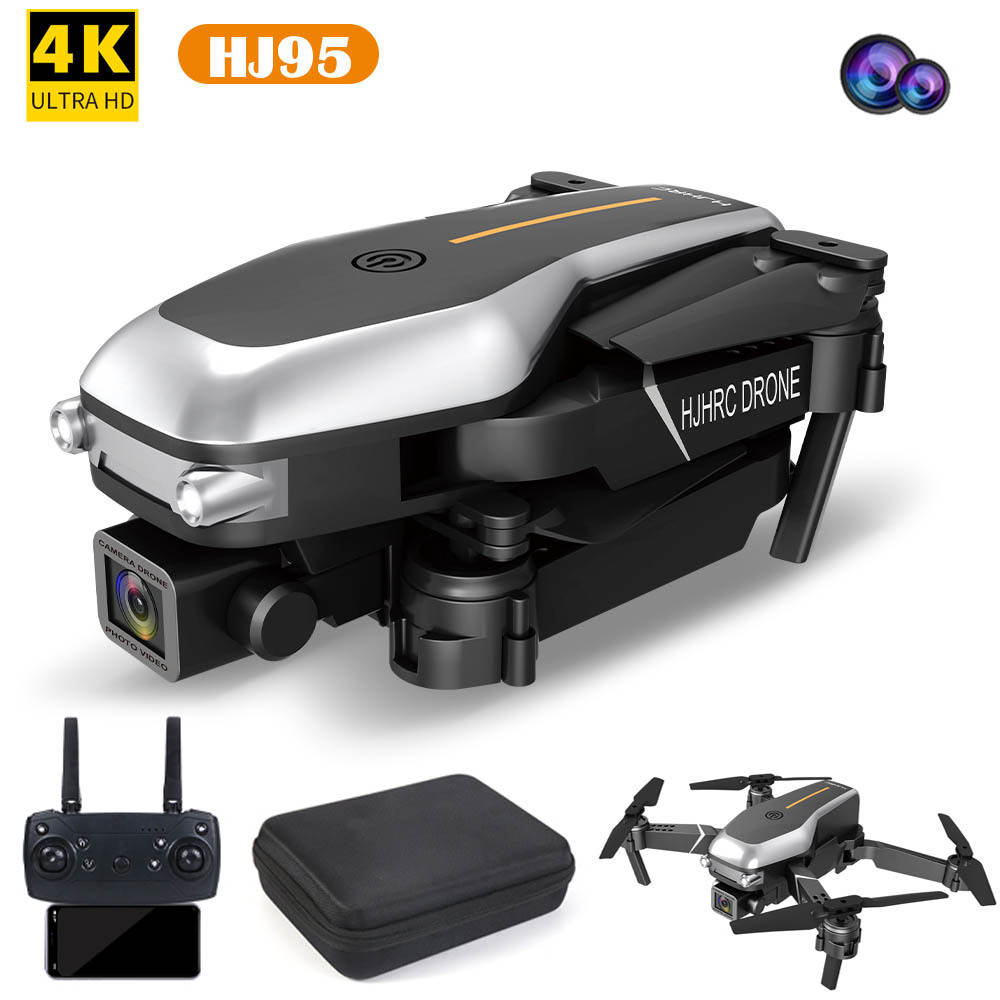 HJHRC HJ95 remote control folding four-axis drone aircraft WiFi real-time transmission aerial photog