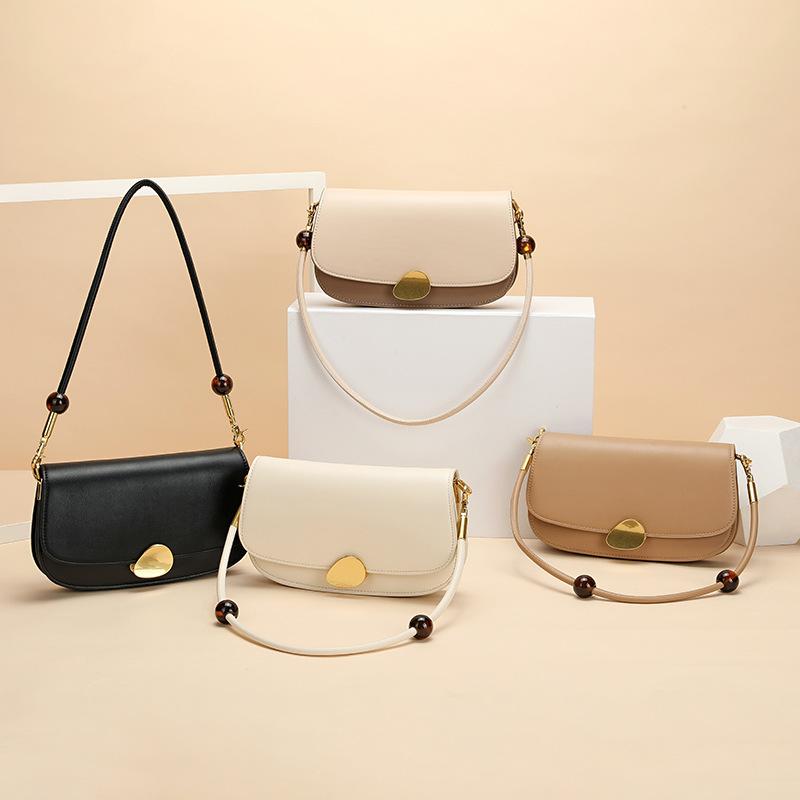 Bag female saddle bag fashion simple retro single shoulder messenger handbag underarm bag female bag